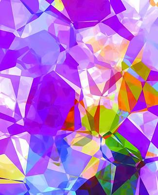 Mixed Media - Purple Mix Abstract by Gabriella Weninger - David