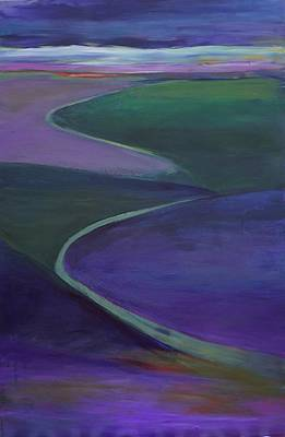 Painting - Purple Moor by Jillian Goldberg