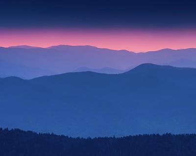 Photograph - Purple Mountain Hues by Michael Blanchette