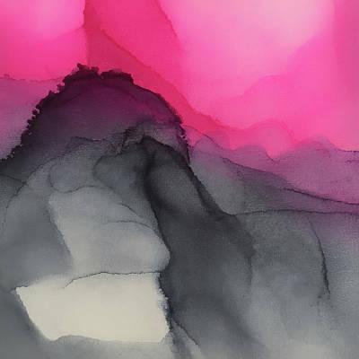 Painting - Purple Mountains Majesty by Angela King-Jones