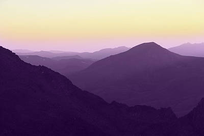 Photograph - Purple Mountains Majesty by Marie Leslie