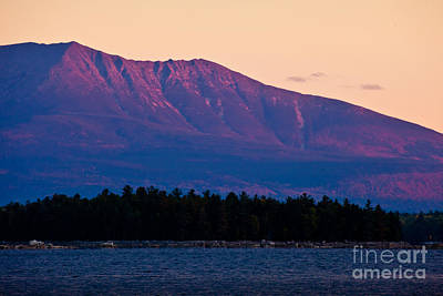 Purple Mountains Majesty Art Print by Susan Cole Kelly