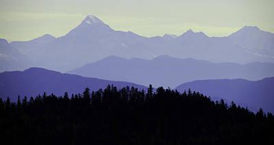 Purple Mountains Majesty Art Print