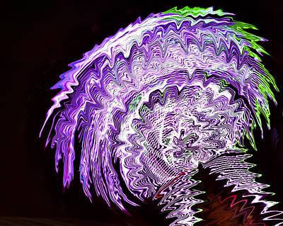 Photograph - Purple Mushroom by Linda Constant