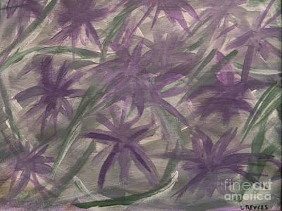 Purple On The Vine Art Print