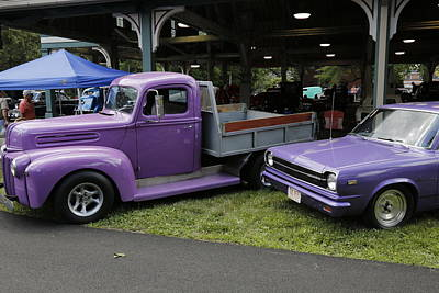 World War 2 Action Photography - Purple Pair by Jeff Roney