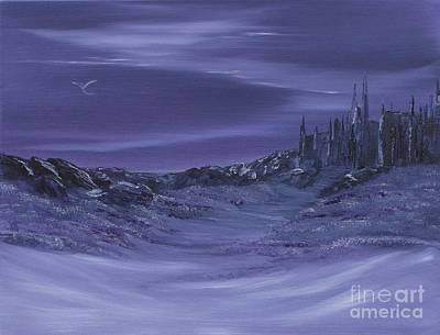Painting - Purple Paradise Sold by Cynthia Adams