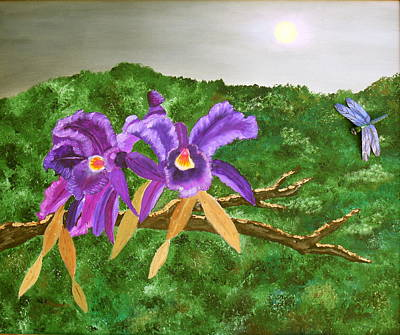 Painting - Purple Passion by Alanna Hug-McAnnally