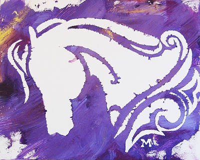 Painting - Purple Passion by Candace Shrope
