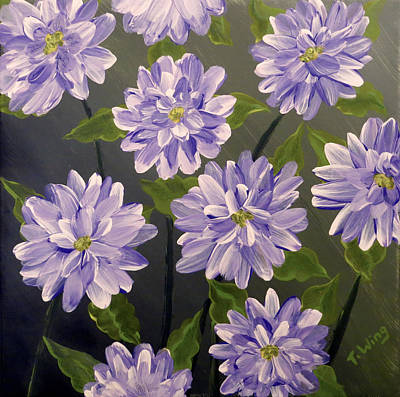 Painting - Purple Passion by Teresa Wing