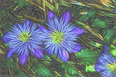 Digital Art - Purple Passion by Terry Cork