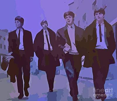 Purple People Eaters Art Print by John Malone