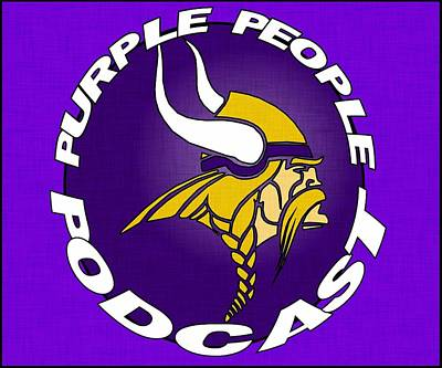 Digital Art - Purple People Podcast by Kyle West