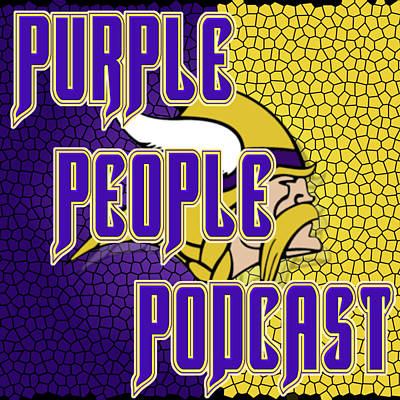 Digital Art - Purple People Podcast Norsman by Kyle West