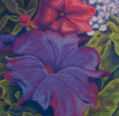 Painting - Purple Petunia by Sandra Lynn