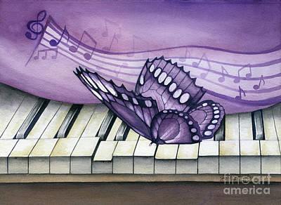 Purple Piano Original