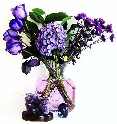 Purple Hydrangea Photograph - Purple Picture Perfect by Marsha Heiken