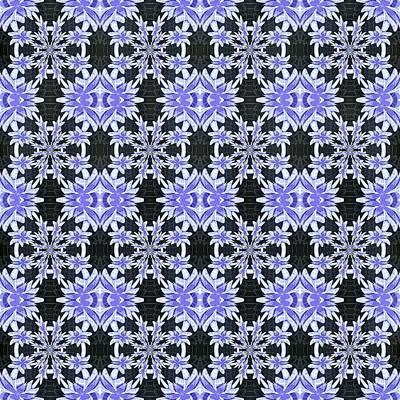 Digital Art - Purple Plenty by Susan Leggett