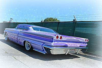 Photograph - Purple Pontiac Perfection by Steve Natale