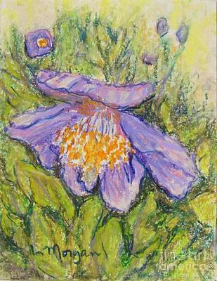 Painting - Purple Poppy by Laurie Morgan