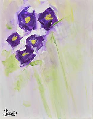 Painting - Purple Posies by Terri Einer
