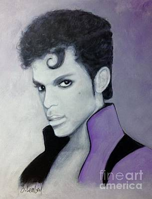 Painting - Purple Prince by Barbara Lemley
