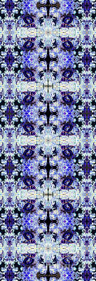 Digital Art - Purple Rabbit Yoga Pose by Deprise Brescia