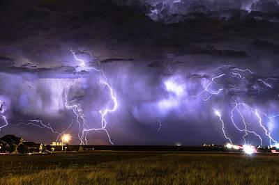 Photograph - Purple Rain by Brandon Green
