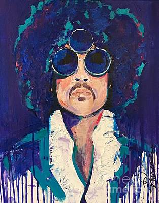 Other Painting - Purple Rain by Denise Morencie