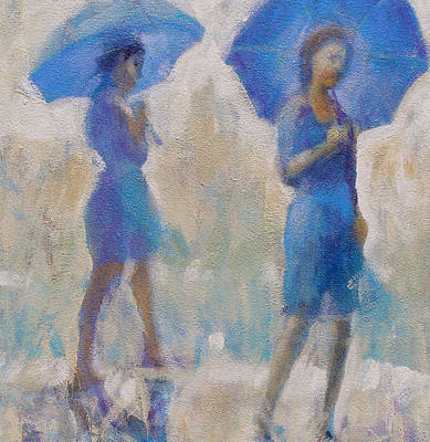 Painting - Purple Rain by Gertrude Palmer