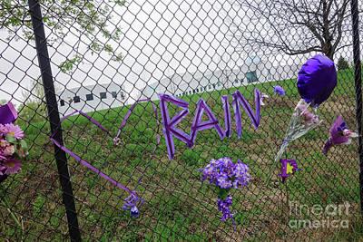 Photograph - Purple Rain by Jacqueline Athmann