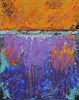 Painting - Purple Rain by Jim Benest