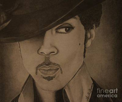 Drawing - A Legend by Lorelle Gromus