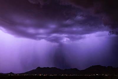 Photograph - Purple Rain Part Two  by Saija Lehtonen
