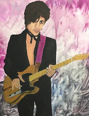 Painting - Purple Rain by Tony Rodriguez