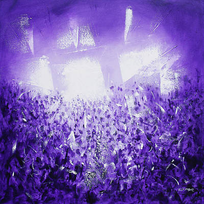 Purple Rave Art Print