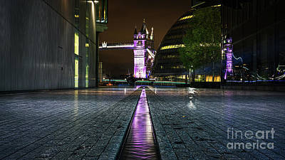 Photograph - Purple Reflections by Giuseppe Torre