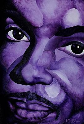 Painting - Purple Reign by William Roby