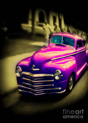 Pixel Art Mike Taylor - Purple Ride by Perry Webster