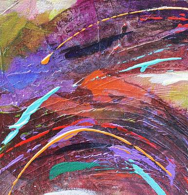 Painting - Purple Rush by Kathie Selinger