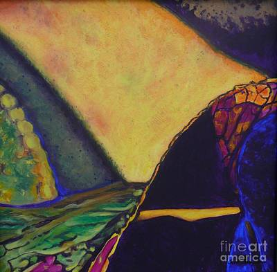 Painting - Purple Section Of The Journey by Terri Thompson