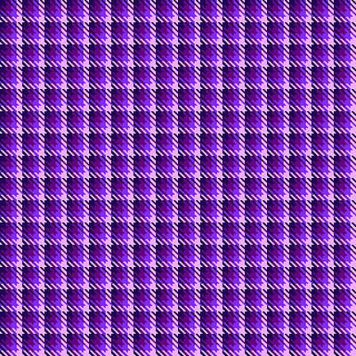 Digital Art - Purple Shadow Check by Jane McIlroy
