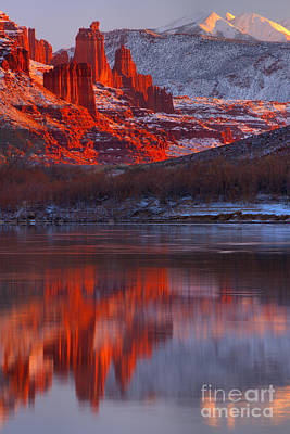 Moenkopi Sandstone Photograph - Purple Skies And Red Towers by Adam Jewell