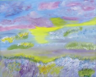Painting - Ocean Dazzles by Meryl Goudey