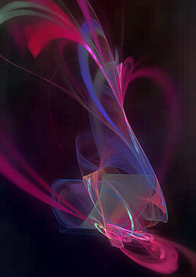 Digital Art - Purple Spirit by Martin Capek