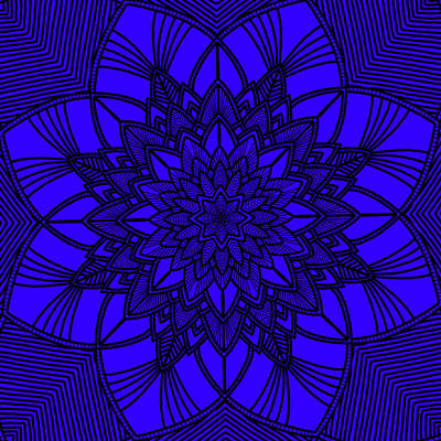 Digital Art - Purple Spiritual by Lucia Sirna