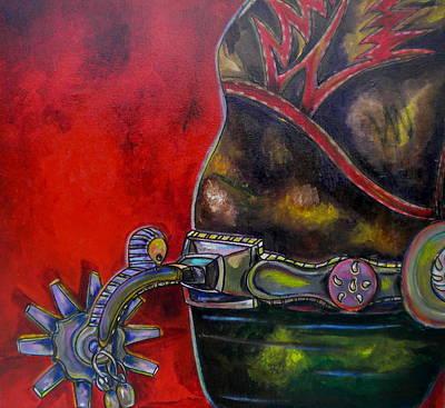Painting - Purple Spur by Patti Schermerhorn