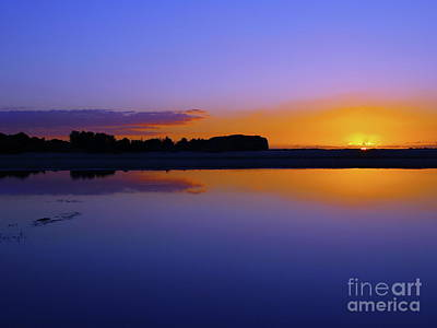 Photograph - Purple Sunrise by Trena Mara