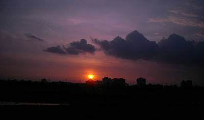 Photograph - Purple Sunset  by Atullya N Srivastava