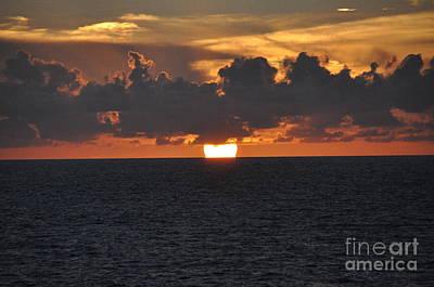 Photograph - Purple Sunset by John Black